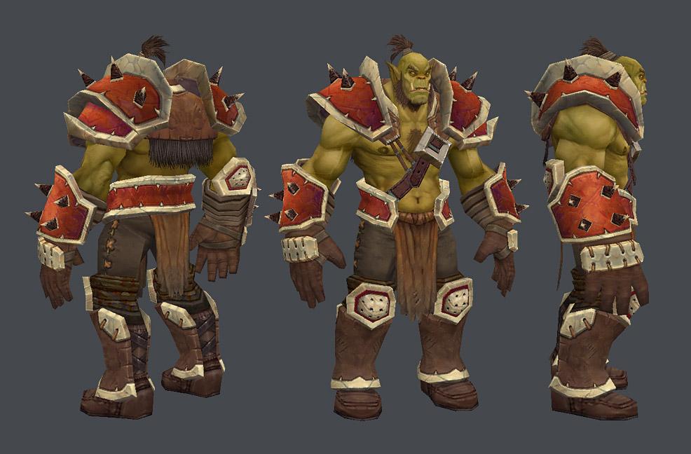 Orc Wow New Model BoBo the seal?