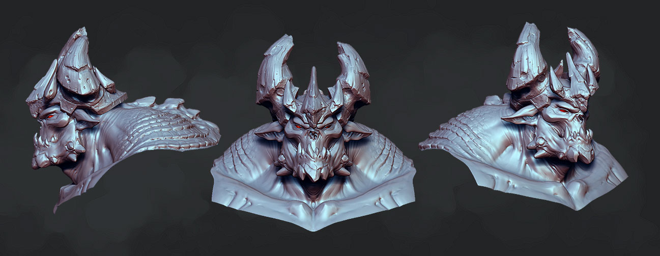 My small contribution to Darksiders — polycount